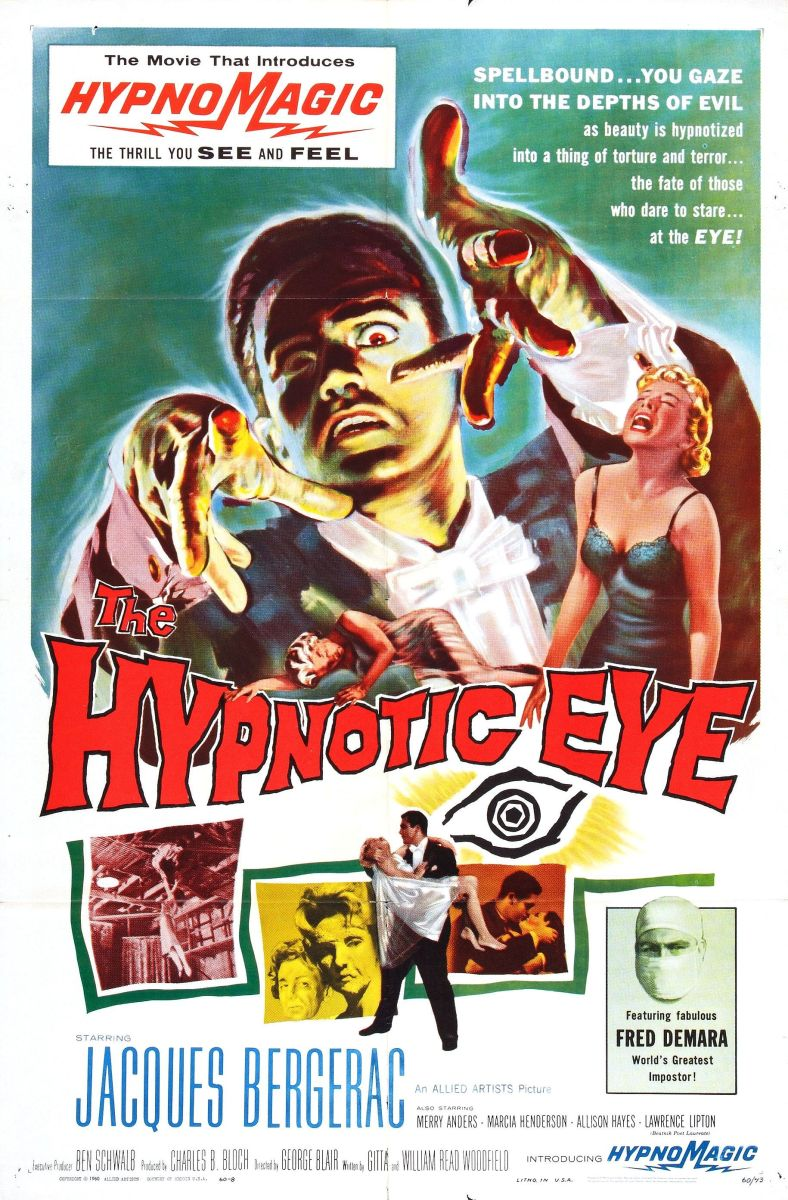 dvd review  u2013 the hypnotic eye from  warnerarchive  u2013 the draconic verses