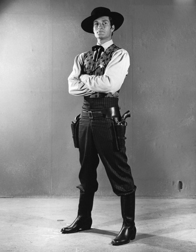 "Hugh O'Brian in ""The Life and Legend of Wyatt Earp"" 1955 ** B.D.M."